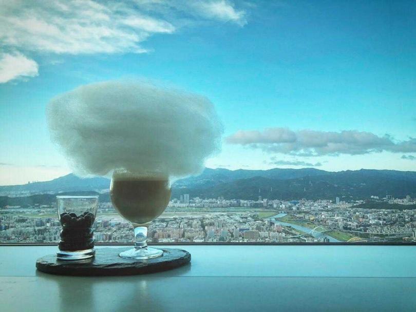 雲朵咖啡。(圖/台北101提供)