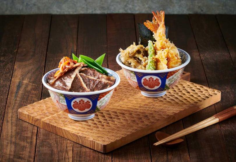 日本和牛雙饗丼。(圖/金子半之助提供)