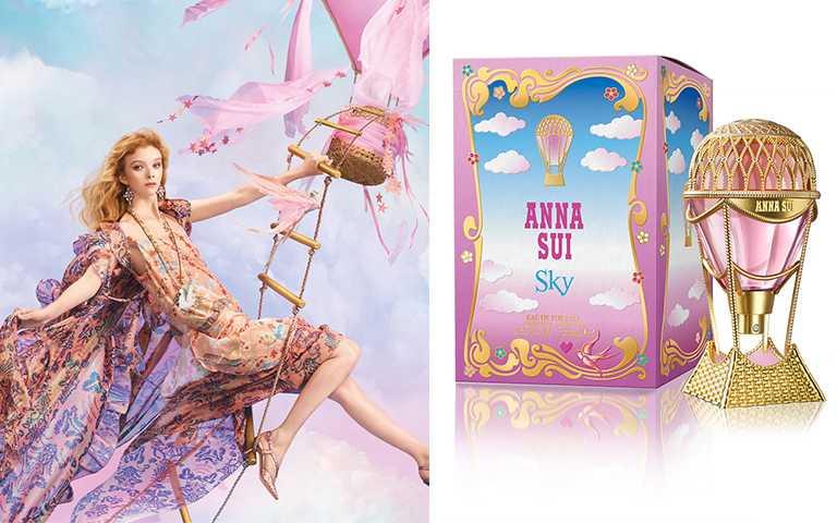 ANNA SUI綺幻飛行淡香水75 ml/NT2,900,1/1全新上市。(圖/法意提供)