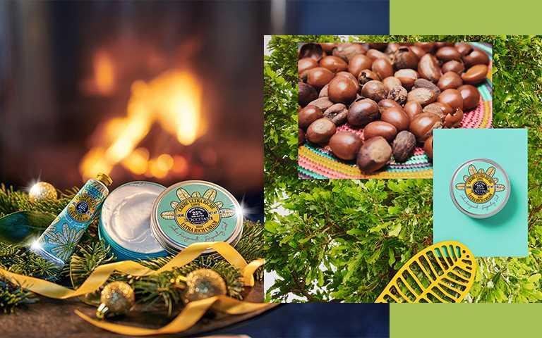 L'OCCITANE快樂乳油木系列,來自西非的珍貴乳油木果油,全品項1/1限量販售。(圖/L'OCCITANE提供)