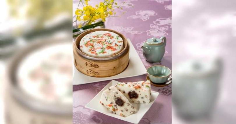「御饌紅豆鬆糕(6吋)」。(599元,圖/圓山大飯店提供)
