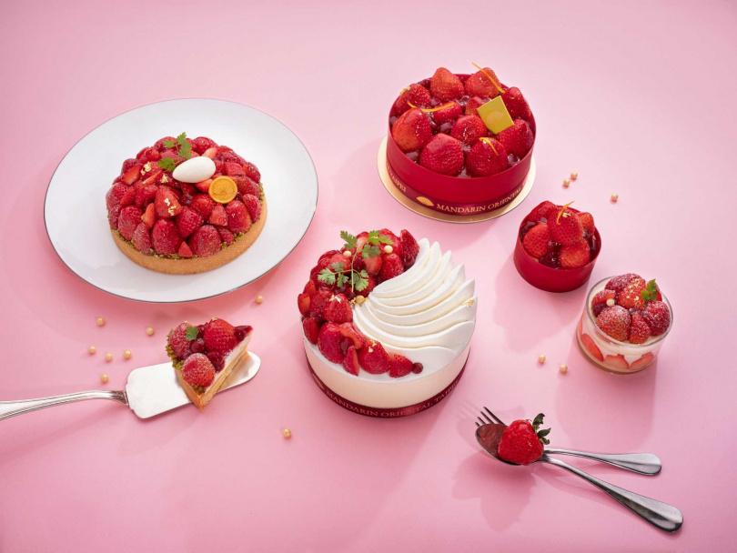 「莓好時光」草莓季。(圖/台北文華東方酒店提供)