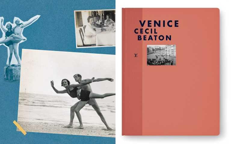 集結Cecil Beaton留下的日記與攝影作品,讓人不受時光限制與想像,來到奇幻的威尼斯共和國。《FASHION EYE-VENICE》by Cecil Beaton/1950元(圖/品牌提供)