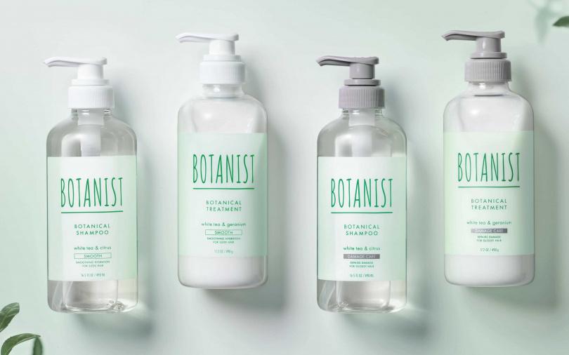 BOTANIST清新白茶系列針對不同髮質推出了清爽柔順型、受損護理型的兩款洗潤系列。(圖/品牌提供)