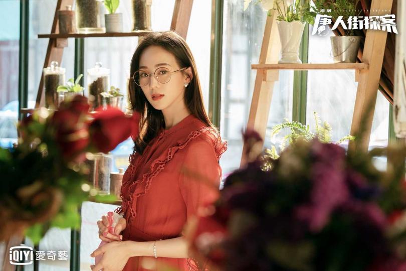 張鈞甯劇中飾演冷艷型美人。(圖/愛奇藝台灣站提供)