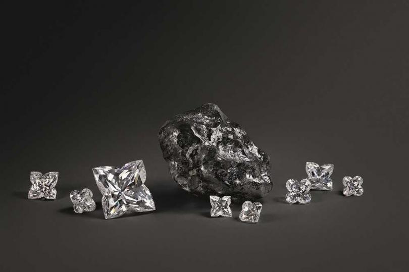 充滿精巧變化的切割藝術,打造鑽石非凡魅力。(圖╱LOUIS VUITTON提供)