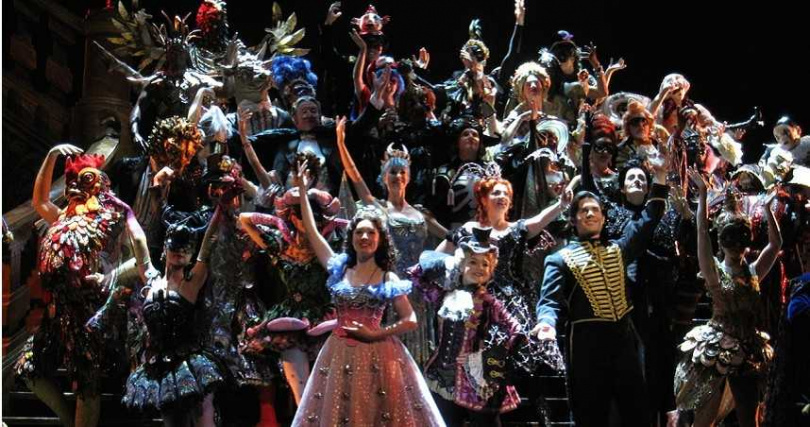 《歌劇魅影》訂於11月19日至12月6日在小巨蛋演出。(圖/寬宏提供)