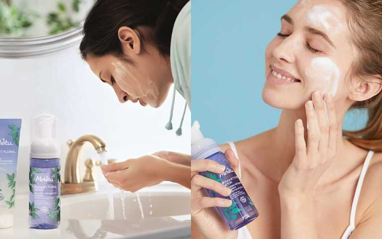 洗臉的水溫過冰過熱都不好,略低於膚溫的20幾度剛剛好。(圖/品牌提供)