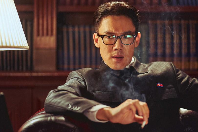 柳演錫表示最讓他困擾的是北韓話。(圖/甲上提供)