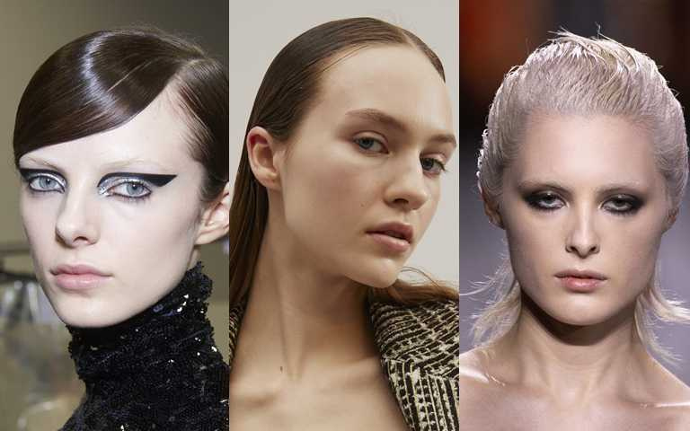 妳沒看錯!這些模特兒不是忘記塗口紅,那是彩妝師刻意保留唇部的原生質感。(圖/品牌提供)
