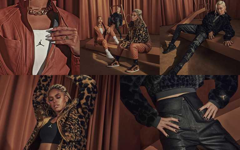 Jordan Court to Runway女子系列服飾將於11/27起正式發售。(圖/Jordan Brand Taiwan)