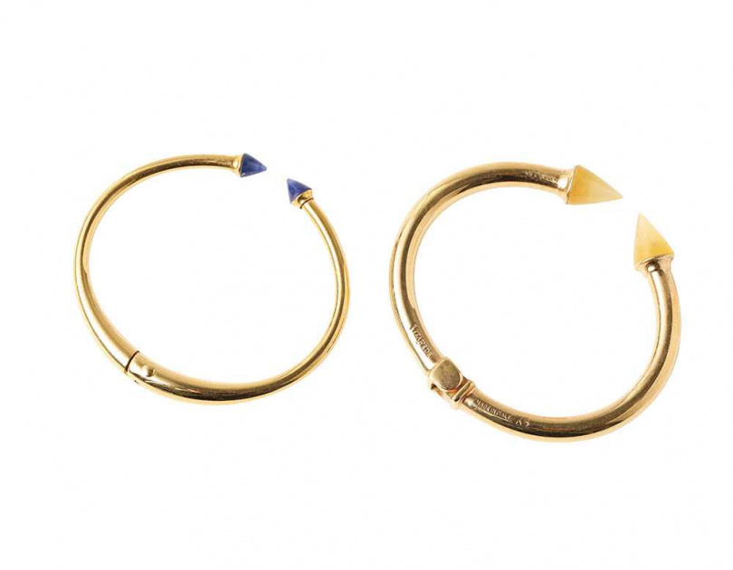 VITA FEDE手環/約10,000元蔡黃汝當初被這品牌燒到,難得腦波弱,沒多想就入手。