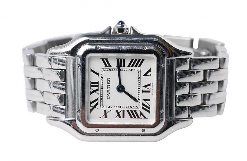 CARTIERPANTHÈRE DE CARTIER美洲豹腕錶價格店洽蔡黃汝先前買了一只ROLEX腕錶,但朋友認為太粗獷,勸敗CARTIER的女錶,不僅年輕、有設計感,也很適合私下穿搭。