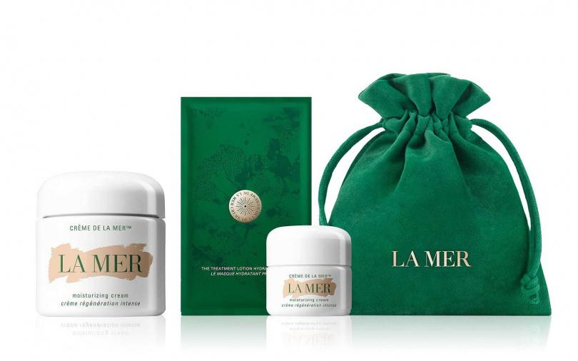 LA MER珍愛精選乳霜組/17,800元(原價24,167元)  內含乳霜100ml +乳霜15ml+濃縮精華高滲透直導膜1片。(圖/品牌提供)