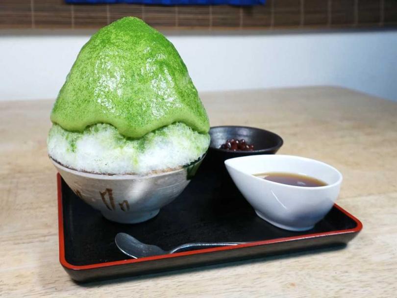 「下北茶苑大山」將提供焙茶和抹茶泡沫結合的刨冰,讓人垂涎三尺。