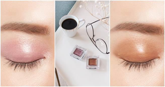 眼霜與眼影霜雙功能的品項,塗上後顯色度佳也很滋潤。ETVOS恆耀光感礦物眼彩膏 (微薰紫/琥珀銅)/1080元 (圖片/IG、品牌提供)