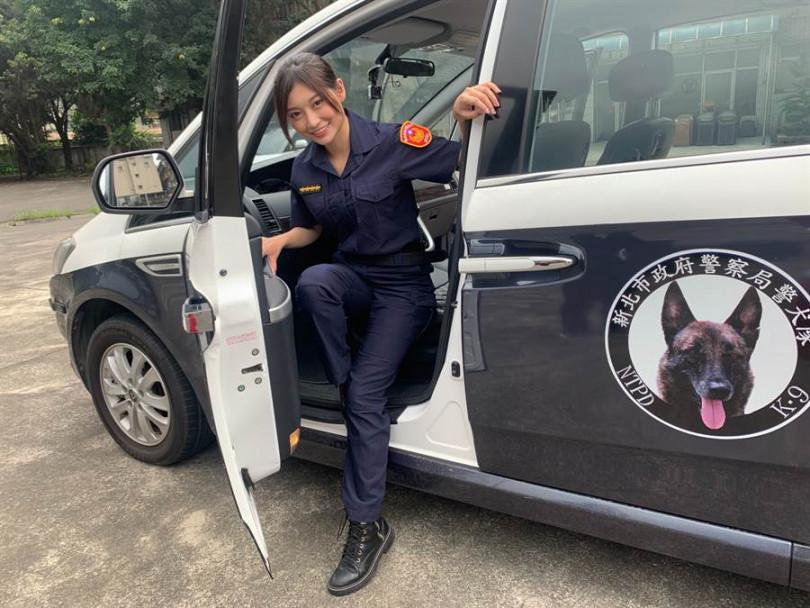 祈錦鈅擔任青春專案反毒宣導大使。(圖/固力狗提供)