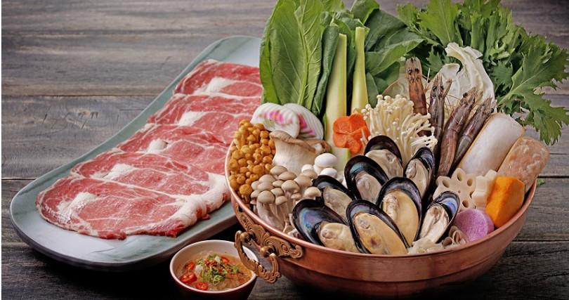 馬祖現撈淡菜鍋。(圖/欣葉提供)