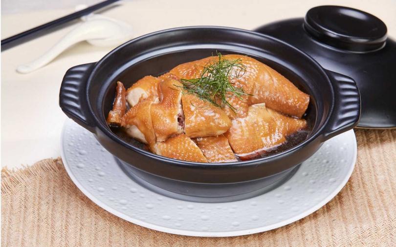 檸葉魚露雞。(圖/台北國賓大飯店提供)