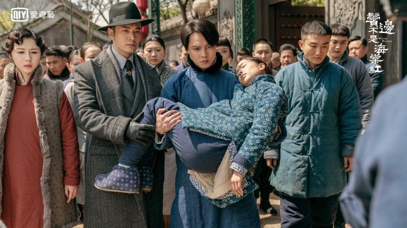 李春嬡俱中飾演主角尹正的精神支柱,卻無預警領便當惹哭觀眾。(圖/愛奇藝台灣站提供)