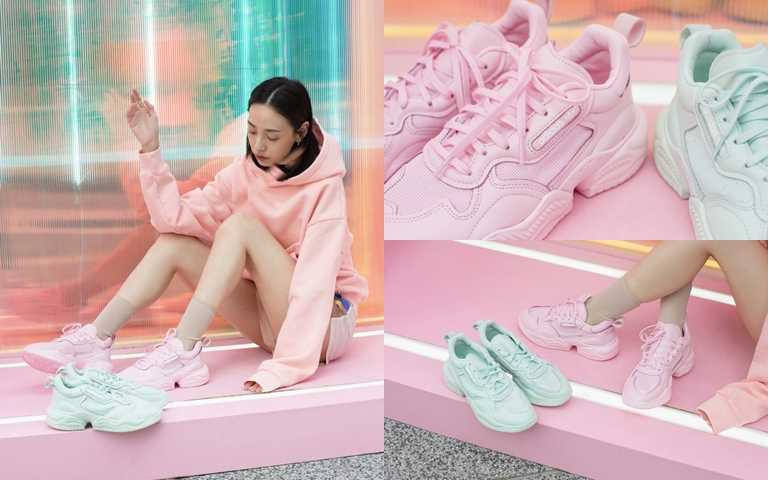 Adidas Originals SUPERCOURT RX兩色 建議售價NT4,890。(圖/Fruition)
