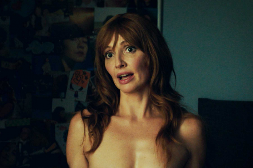 克莉絲蒂娜卡斯坦奴在本片大方解放雙胸,與男主角激情爆笑床戰。