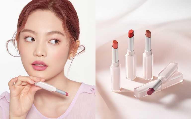 ETUDE唯美色計輕紗唇膏共5色 2.2g/ 450 元。