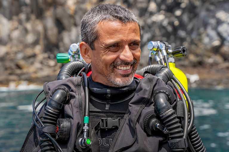 2021年「勞力士雄才偉略大獎」得主:路易茲.羅查(Luiz Rocha),來自巴西。(圖╱ROLEX提供)
