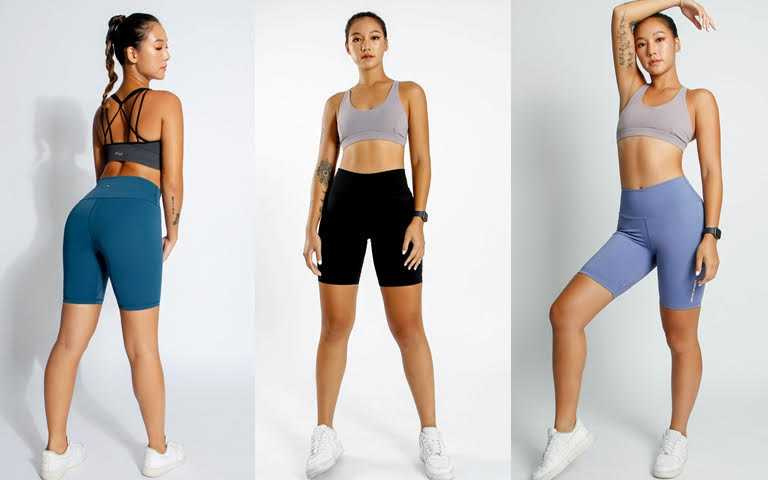 AM ME歐美提臀機能五分褲/1,280元  五分褲的長度設計還能拉長小腿線條,就算是嬌小女也能穿上美腿比例。(圖/品牌提供)