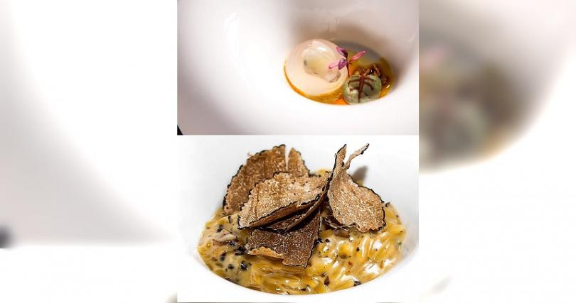 西班牙主廚創意料理餐廳「Hidden by DN隱丹廚」台北米其林月特餐。(圖/主辦提供)