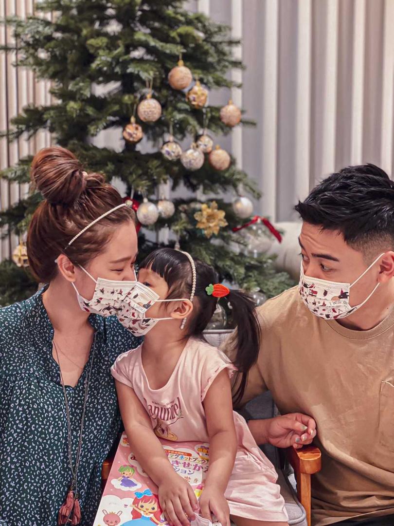 聖誕節一家人的Dress code搞定,M編覺得超Q又安全!