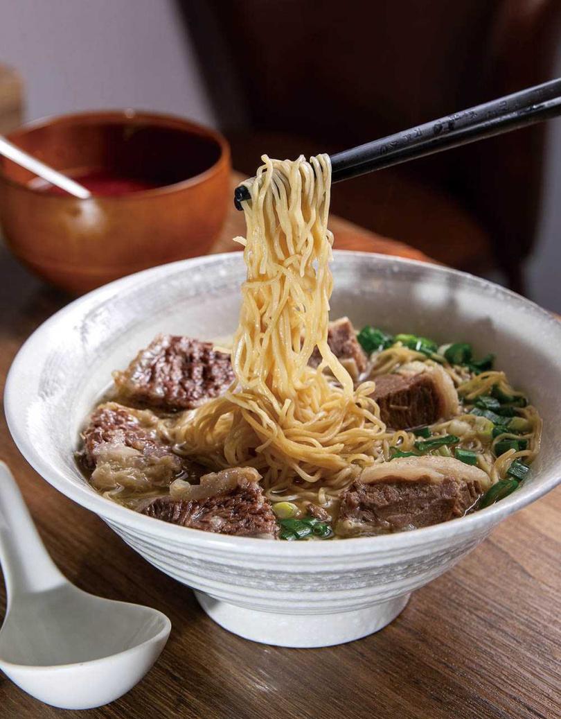 清湯牛腩麵/170元(圖/焦正德攝)