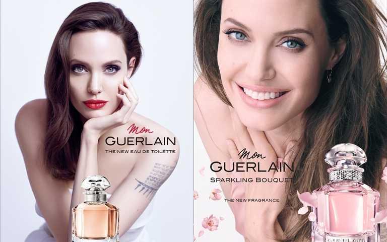 跟裘莉之前的「我的印記玫瑰淡香水」形象照比一比,這樣呈現不同風貌的裘莉果真還是魅力十足阿>///<。(圖/品牌提供)