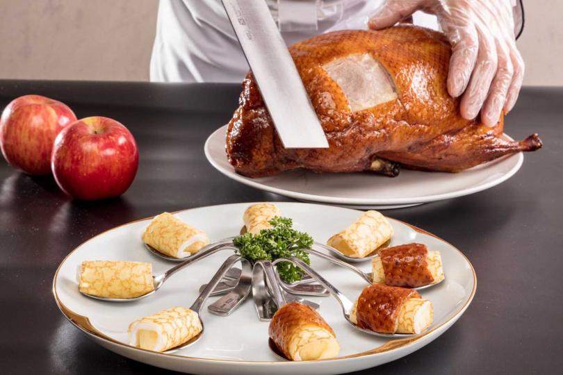 烤鴨雙人餐。 (圖/福容大飯店提供)