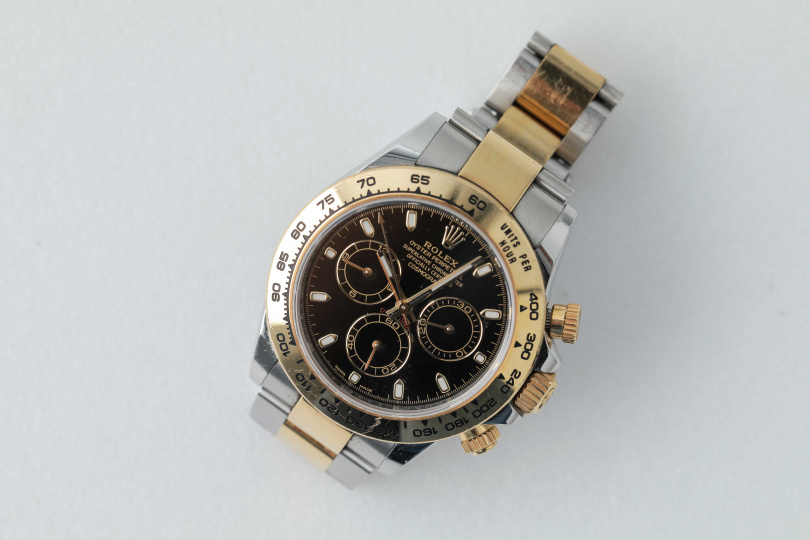 勞力士錶, 17000元美金。(圖/林士傑攝)