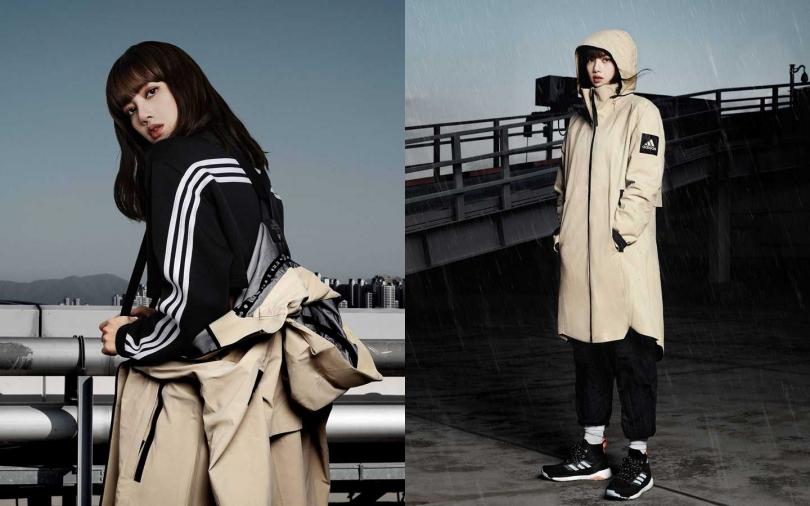 adidas MYSHELTER防水風衣外套限量上市,售價NT9,200。(圖/adidas)