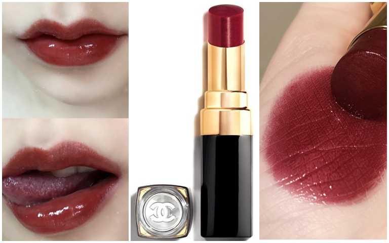 色號#126實擦,華麗又貴氣的絲緞光玫瑰木色。(圖/品牌提供、翻攝小紅書)