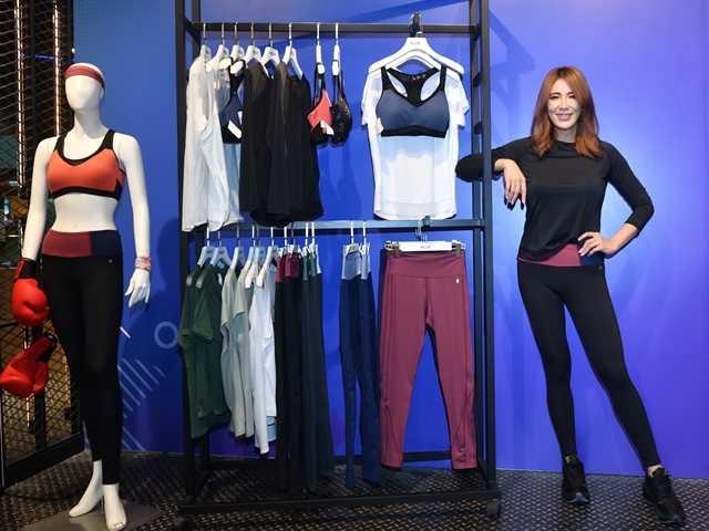 小珍與MOLLIFIX聯手打造出最適合女性的運動內衣與動塑褲設計單品。(圖/MOLLIFIX)