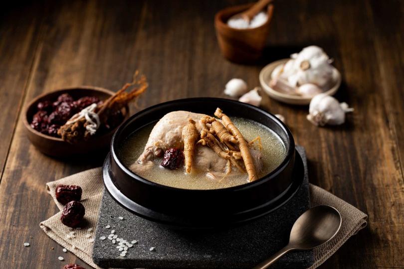韓國人蔘雞。(圖/姜滿堂提供)