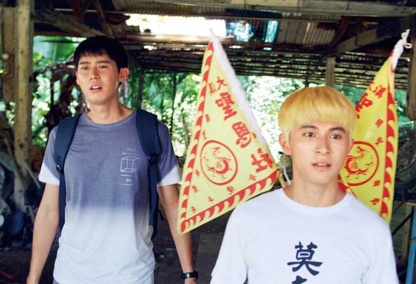 林暉閔與李玉璽在劇中是好哥兒們,私下也因戲建立友誼。(圖/東森電視、映畫傳播提供)