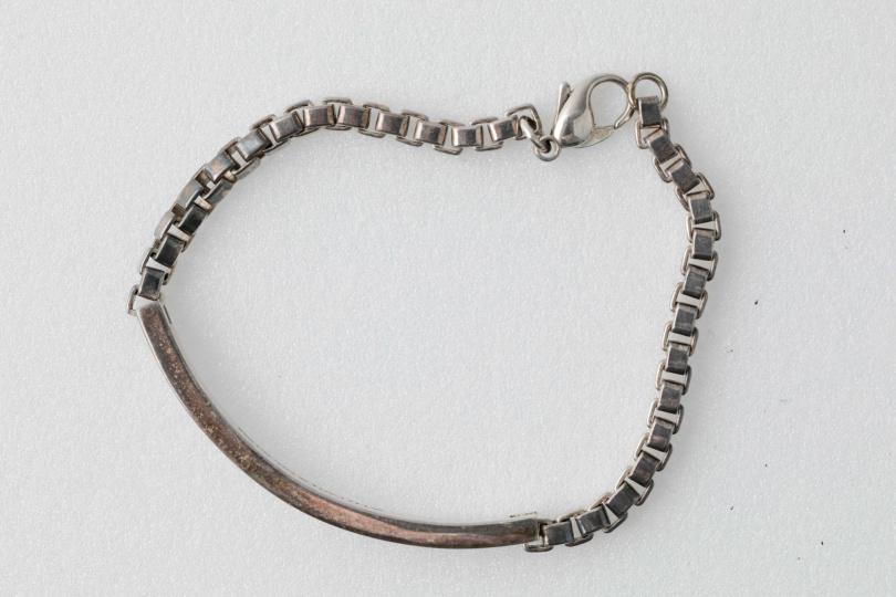 Tiffany手鍊,200多元美金。(圖/林士傑攝)