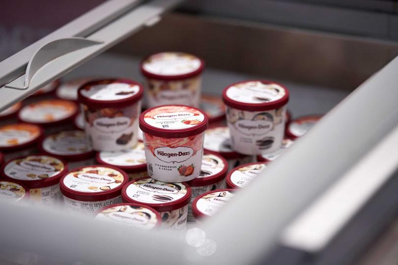 大小朋友都無法抗拒的哈根達斯冰淇淋,通通隨你拿。