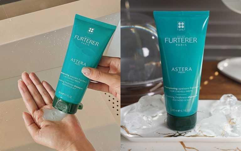 René Furterer ASTERA 紫苑草舒緩髮浴 200ml/1,380元;/ 600ml/2,300元(圖/品牌提供)