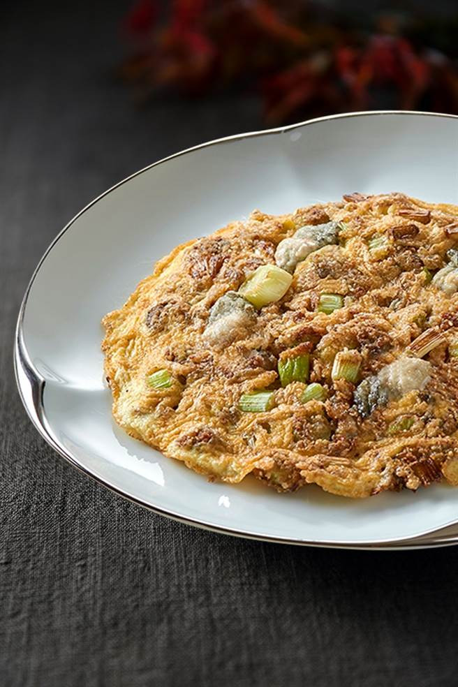 「週遊美福」料理客座—米香台菜:台味鮮蚵煎。