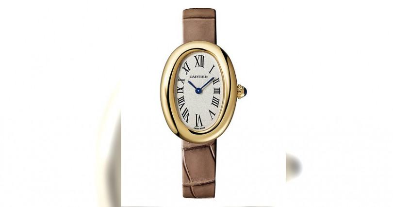 CARTIERBaignoire錶殼:18K黃金材質/錶徑24.5 x 31.6mm機芯:石英機芯功能:時分雙針防水:30米定價:337,000元