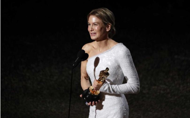 芮妮齊薇格不負重望,以《茱蒂》一片拿下最佳女主角獎。(圖/達志/美聯社)