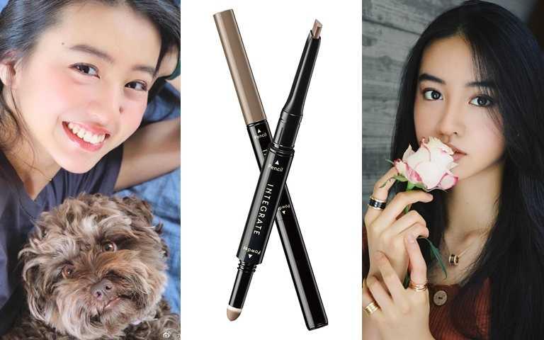 INTEGRATE繪型持色兩用眉粉筆 #BR661 0.7g/300元(圖/品牌提供、翻攝自網路)