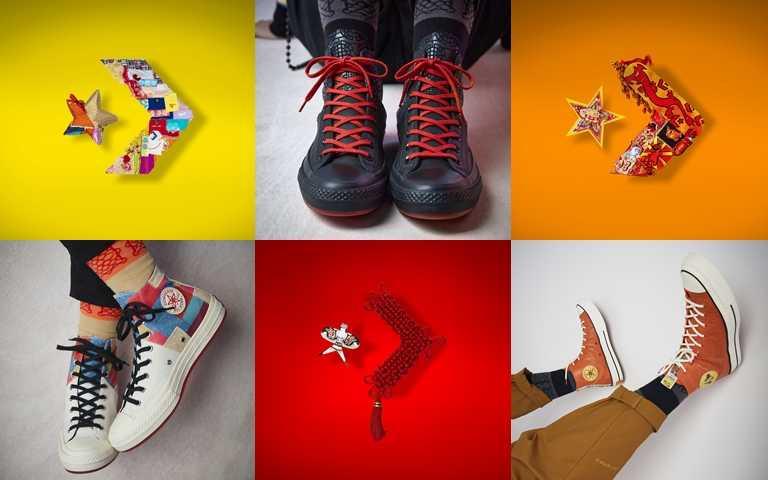 Converse 2021 CNY鞋款系列建議售價為NT2,980–NT3,080。(圖/Converse Taiwan)
