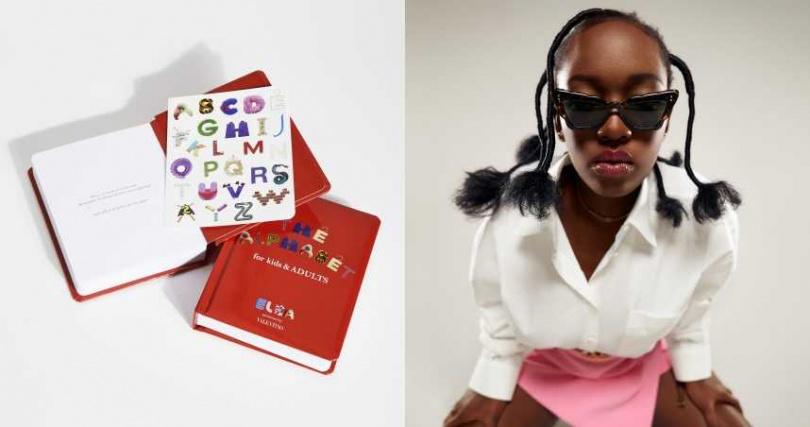 《The Alphabet for Kids & Adults》嘗試以嶄新角度呈現生活中的尋常事物。Elsa Majimbo 年僅19歲卻創造出一系列幽默睿智的短片,在網路吸引眾多粉絲追隨。(圖/品牌提供)