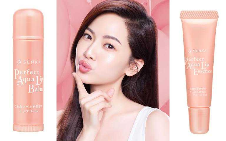 專科彈潤護唇膏4.5g/140元、專科彈潤護唇精華10g/180元質感玫瑰金包裝,也是女明星化妝包中必收的時尚配件。(圖/品牌提供)